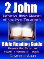 2 John - Sentence Block Diagram Method of the New Testament Holy Bible