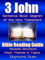 3 John - Sentence Block Diagram Method of the New Testament Holy Bible