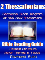 2 Thessalonians - Sentence Block Diagram Method of the New Testament Holy Bible