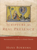 Scripture as Real Presence