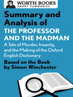 Summary and Analysis of The Professor and the Madman