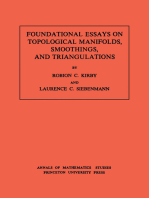 Foundational Essays on Topological Manifolds, Smoothings, and Triangulations. (AM-88), Volume 88