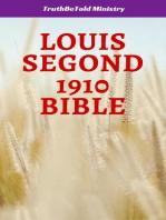 Louis Segond 1910 Bible