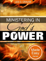 Ministering In God's Power