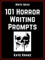 101 Horror Writing Prompts