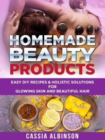 Homemade Beauty Products: Easy DIY Recipes & Holistic Solutions for Glowing Skin and Beautiful Hair: Epsom Salt, Essential Oils, Natural Remedies, #1