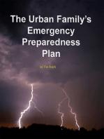 The Urban Family's Emergency Preparedness Plan