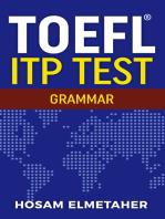 TOEFL ® ITP TEST