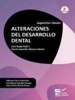 Alteraciones del desarrollo dental: Aspectos claves (1ª edición)