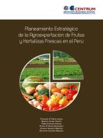 Planeamiento estratégico de la agroexportación de frutas y hortalizas frescas en el Perú