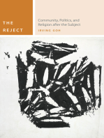 The Reject: Community, Politics, and Religion after the Subject