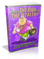 Rules Of The Rich And Wealthy