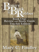Benny and the Bank Robber Teacher Edition Study Guide