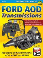 Ford AOD Transmissions