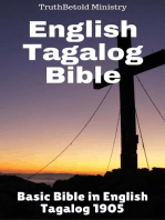 English Tagalog Bible: Basic Bible in English - Tagalog 1905