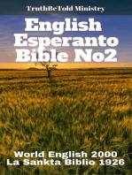 English Esperanto Bible No2