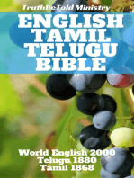 English Tamil Telugu Bible