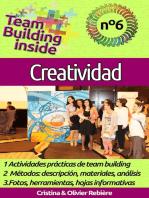 Team Building inside n°6 - creatividad: ¡Crea y vive el espíritu del equipo!