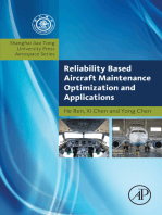 Reliability Based Aircraft Maintenance Optimization and Applications