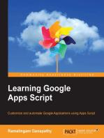 Learning Google Apps Script