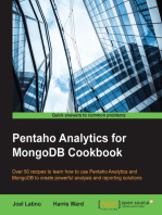 Pentaho Analytics for MongoDB Cookbook