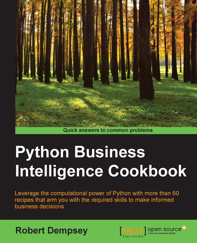 Python Business Intelligence Cookbook by Dempsey Robert - Read Online