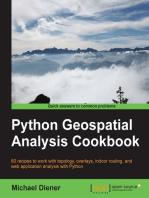 Python Geospatial Analysis Cookbook