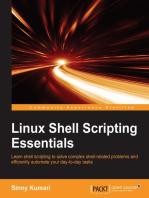 Linux Shell Scripting Essentials