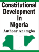 Constitutional Development in Nigeria