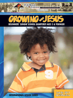 Growing with Jesus