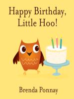Happy Birthday, Little Hoo!