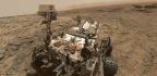 The Curiosity Mars Rover's Wheels Are Starting to Break