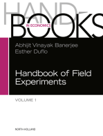 Handbook of Field Experiments