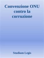 Convenzione ONU contro la corruzione