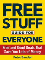 Free Stuff Guide for Everyone Book