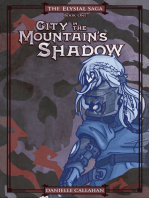 City in the Mountain's Shadow