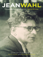 Transcendence and the Concrete: Selected Writings