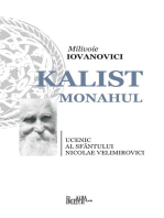 Kalist Monahul: Ucenic al Sfantului Nicolae Velimirovici