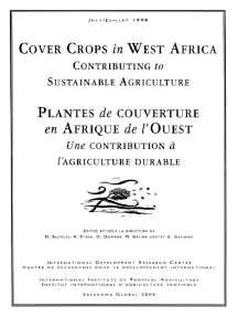 Cover crops in West Africa: contributing the sustainable agriculture