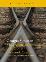 Maigret en los dominios del córoner