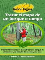 Trazar el mapa de un bosque o campo