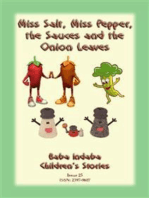 MISS SALT, MISS PEPPER, THE SAUCES AND THE ONION LEAVES - A West African Folk Tale
