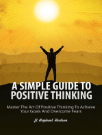 A Simple Guide To Positive Thinking