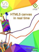HTML5 canvas in real time
