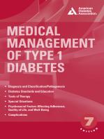 Medical Management of Type 1 Diabetes