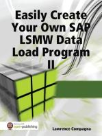 Easily Create Your Own SAP LSMW Data Load Program II