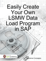 Easily Create Your Own LSMW Data Load Program in SAP