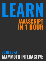 Learn Javascript In 1 Hour