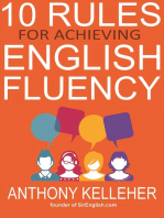 10 Rules for Achieving English Fluency