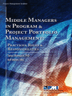 Middle Managers in Program and Project Portfolio Management